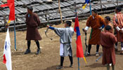 Archery the National Sport of Bhutan