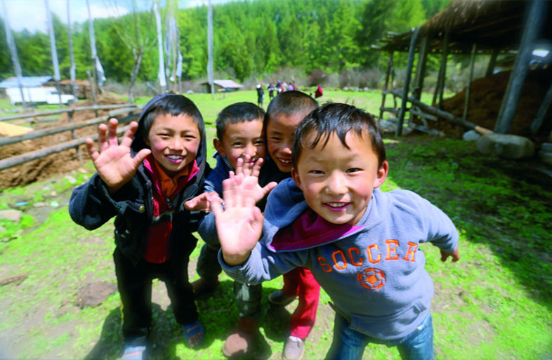 bhutan and gross national happiness and Bhutan, a small, reluctant buddhist refuge, seeks to measure its progress in long-term kalpas (a measure of millions of years in the buddhist faith) of good karma and gross national happiness.
