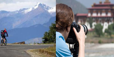Photography and Cycling in Bhutan
